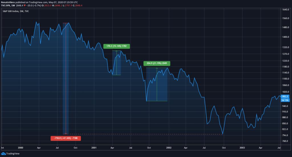 Anatomia di un bear market rally