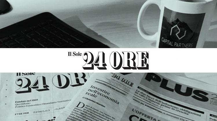Intervista su Il sole 24 Ore